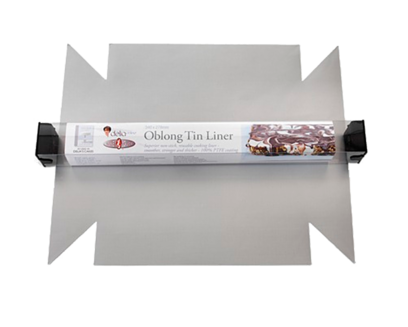 Bake-O-Glide™ Oblong Tin Liner