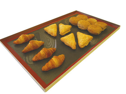 Bake-O-Glide™ Industrial Silicone Mats Solid or Mesh