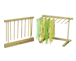 Beechwood Collapsible Pasta Drying Rack